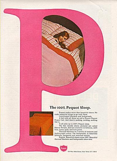 Pequot sheets ad 1968 (Image1)