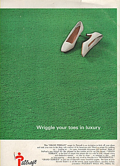 Patcraft  carpet ad 1968 (Image1)