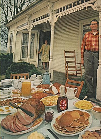 Log Cabin syrup ad 1971 (Image1)