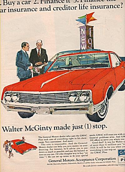 GMAC plan ad 1966 (Image1)