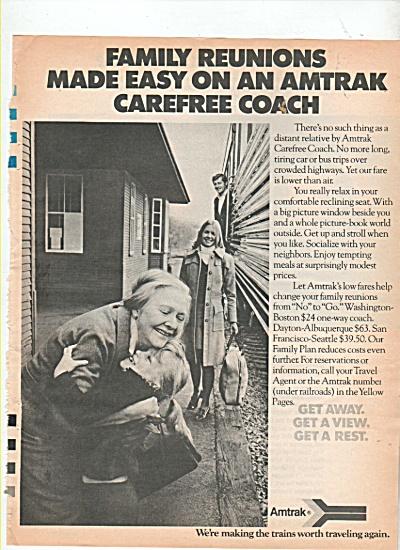 Amtrak trains ad 1974 (Image1)