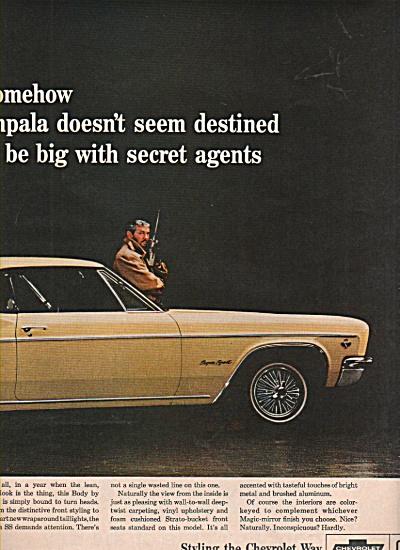 Chevrolet Impala ad 1966 (Image1)