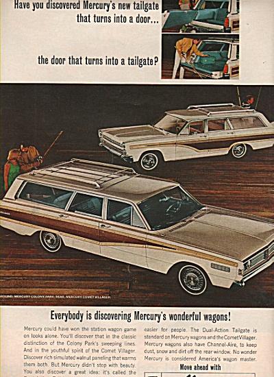 Mercury Station wagons ad 1966 (Image1)