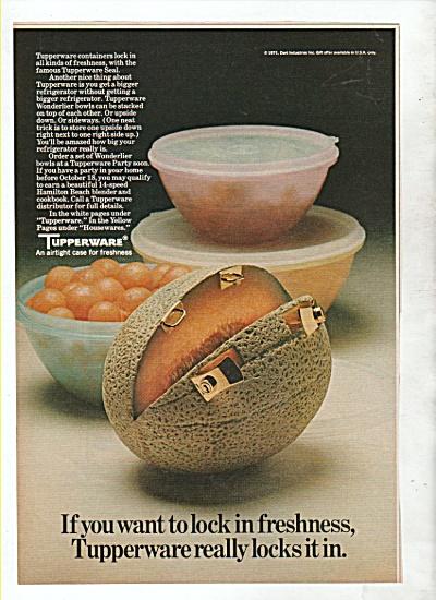 Tupperware ad 1971 (Image1)