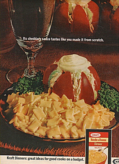 Kraft Noodle & cheese dinner ad 1971 (Image1)