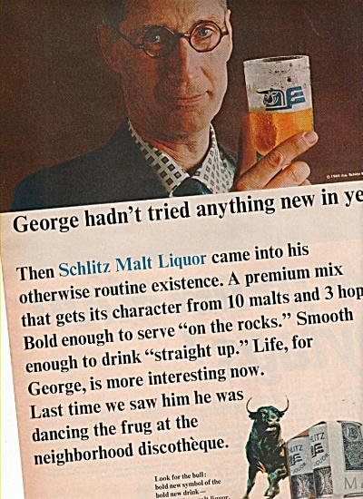 Schlitz malt liquor ad 1966 (Image1)