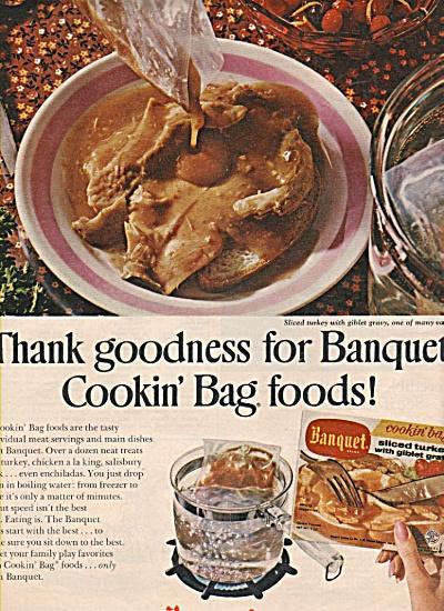 Banquet cookin bag foods ad 1971 (Image1)