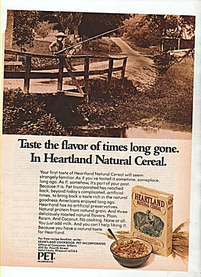Heartland Natural cereal ad 1974 (Image1)