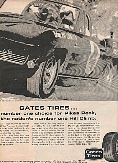 Gates Tires ad 1966 (Image1)
