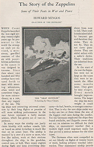 The Story of the Zeppelins - 1928 (Image1)