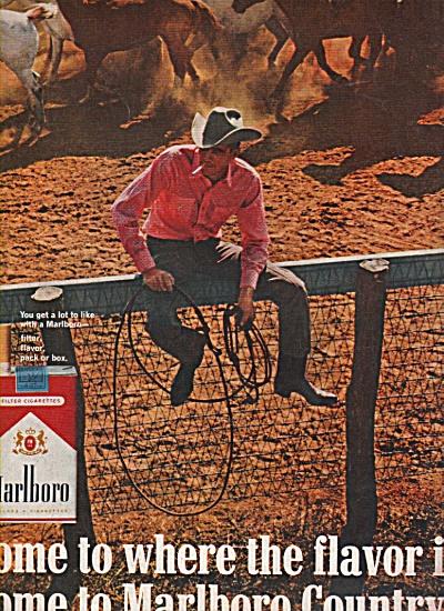 Marlboro cigarettes ad 1966 (Image1)