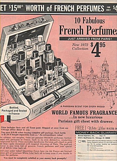Miresk Importers ad 1971 (Image1)