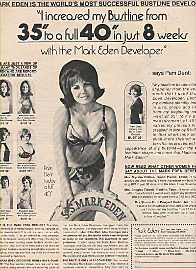 Mark Eden bustline developer ad 1971 (Image1)
