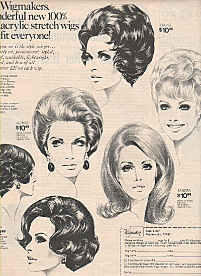 The Wigmaker ad 1971 (Image1)