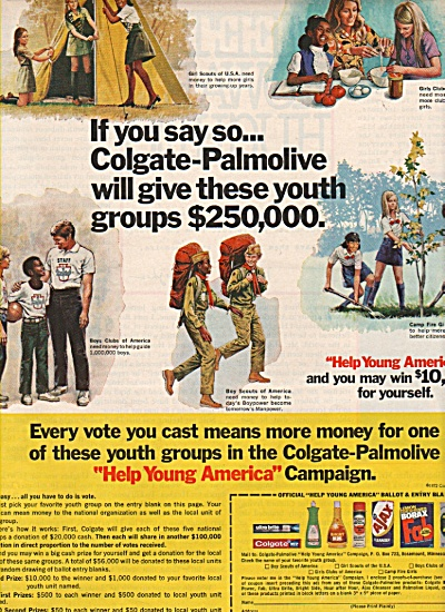 Colgate Palmolive Campaign ad 1972 (Image1)