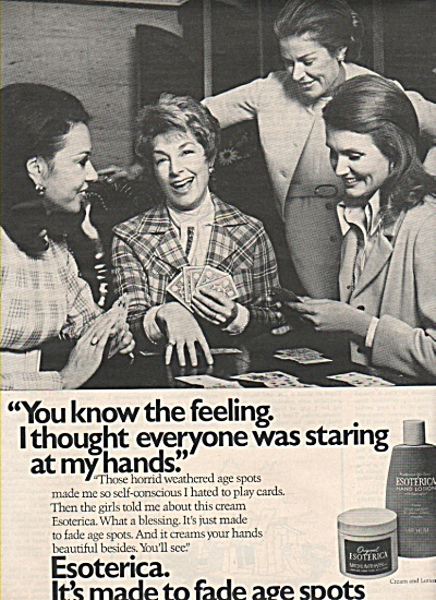 Esoterica lotion ad 1972 (Image1)