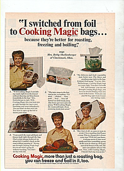 cooking bags ad 1972 (Image1)