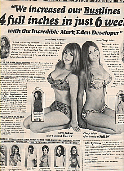 Mark Eden bustline developer ad 1972 (Image1)