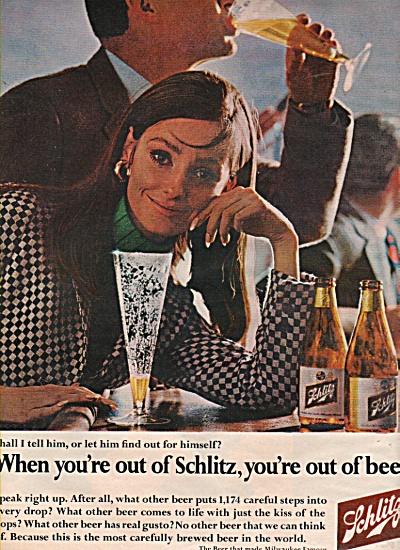 Schlitz beer ad 1966 (Image1)