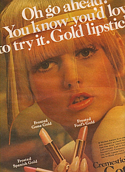 Cremestick by Coty ad 1966 (Image1)