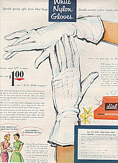 Dial deodorant soap ad-white nylon gloves (Image1)
