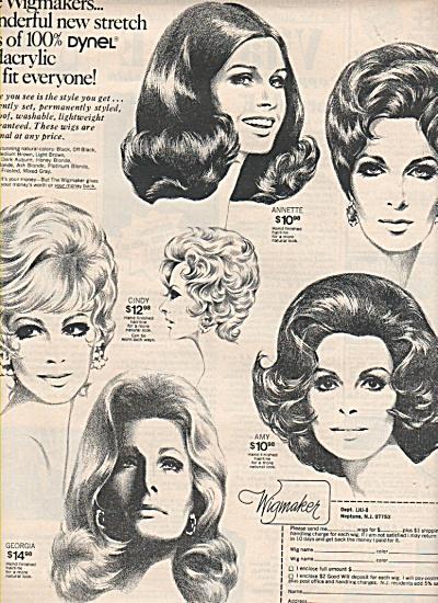 Wigmaker ad 1972 (Image1)