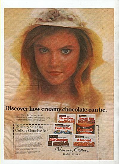 Cadbury chocolate bar ad 1982 (Image1)