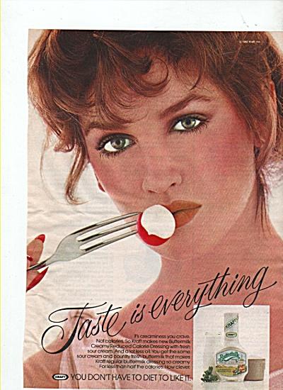 Kraft buttermilk ad 1982 (Image1)