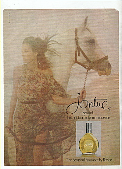 Jontue fragrance by Revlon ad 1978 (Image1)