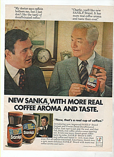 Sanka Coffee ;  ROBERT YOUNG ads 1978 (Image1)