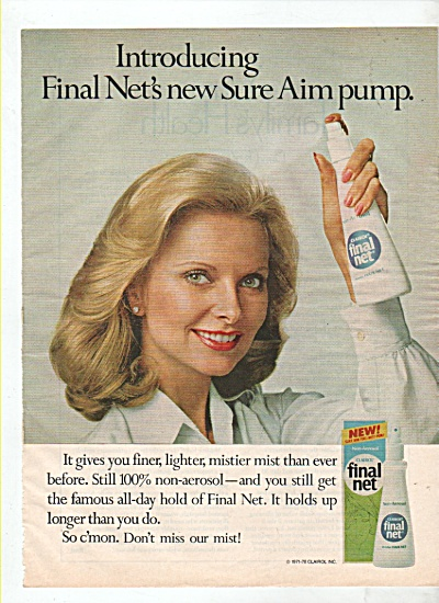 Final net  by Clairol ad  1978 (Image1)
