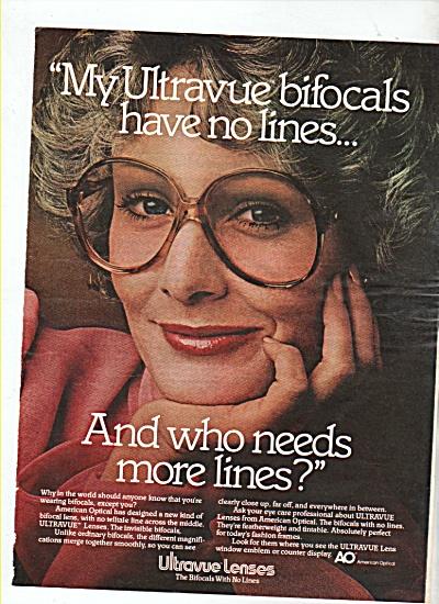 Ultravue lenses ad 1978 (Image1)