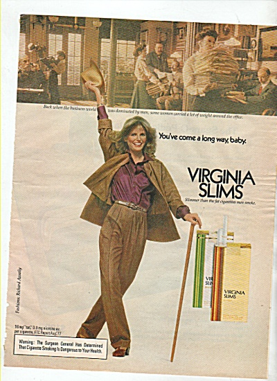 Virginia Slims ad  1978 (Image1)