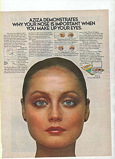 Aziza  eye makeup ad 1978 (Image1)