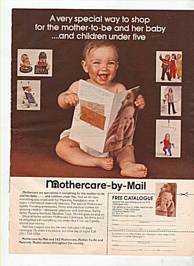 Mothercare-by-Mail  ad 1978 (Image1)