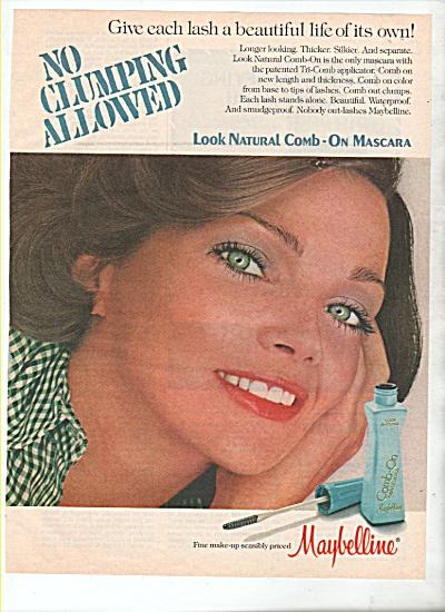 Maybelline mascara ad 1978 (Image1)