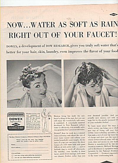 Dow chemical company -  Dowex ad 1953 (Image1)