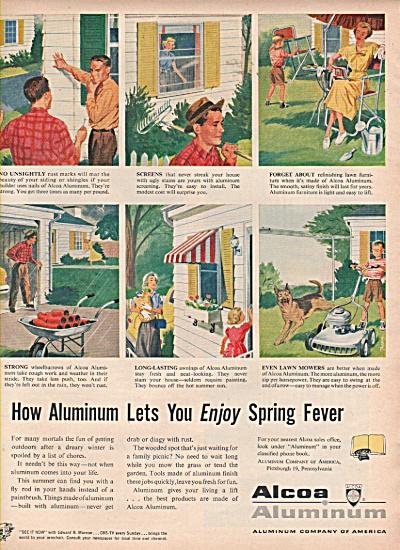 Alcoa Alluminum company of America ad 1953 (Image1)