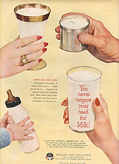 American Dairy association ad 1953 (Image1)