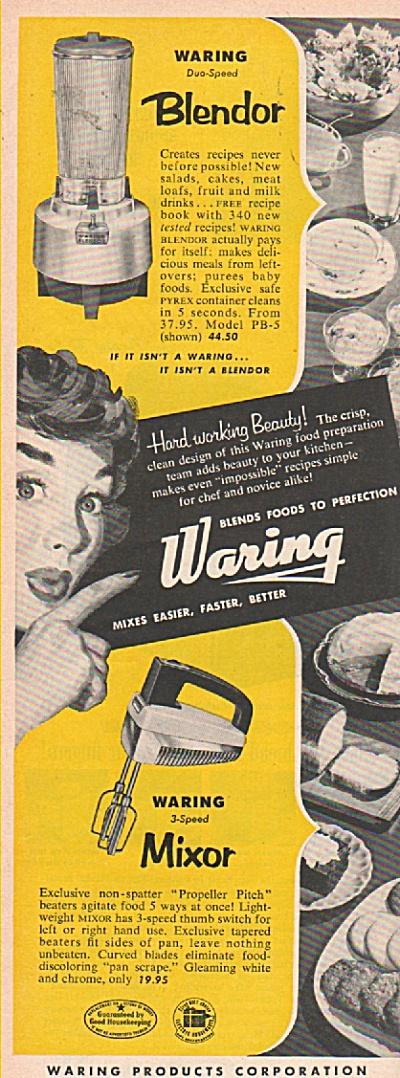 Waring Mixor ad 1953 (Image1)