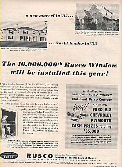 Rusco combination windows and doors ad 1953 (Image1)