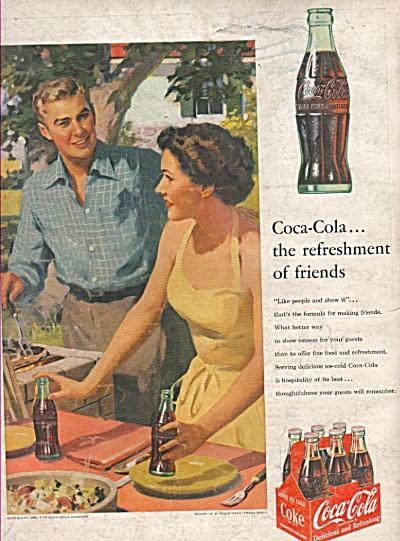 Coca Cola ad 1953 (Image1)
