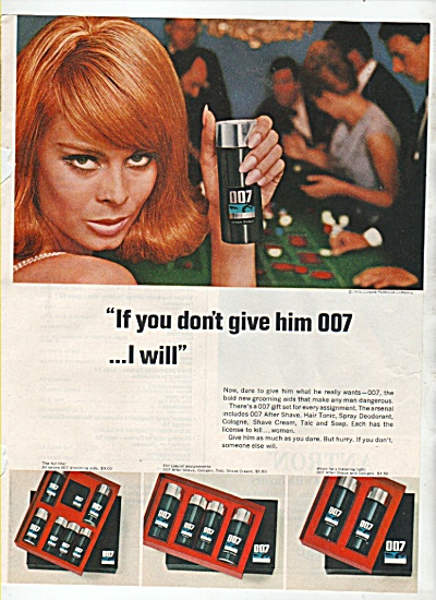 007 groomng aids ad 1965 (Image1)