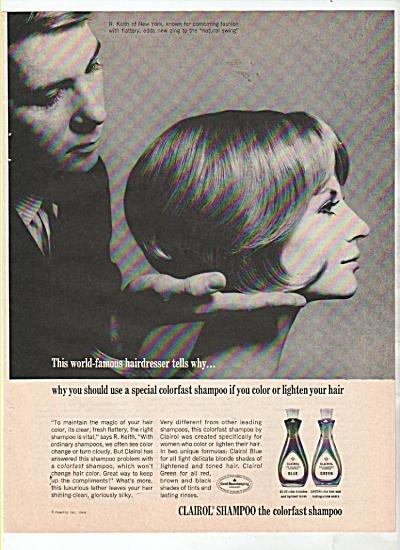 Clairol shampoo ad 1965 (Image1)