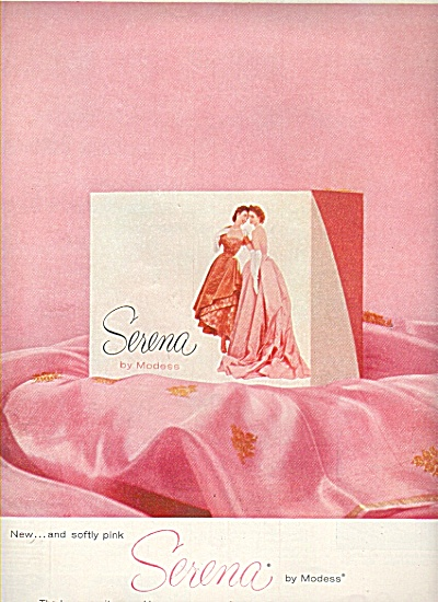 Serena by Modess ad 1959 (Image1)