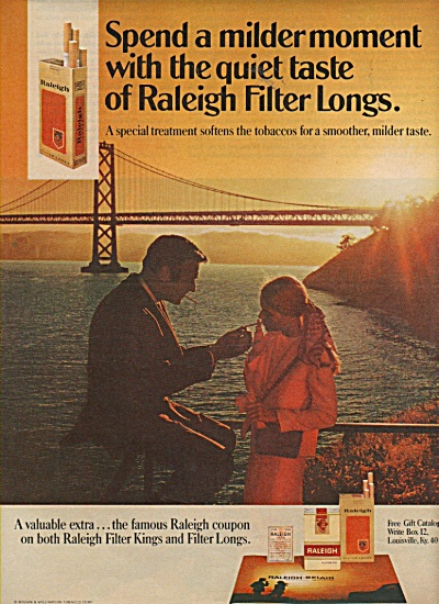 Raleigh cigarettes ad 1970 (Image1)