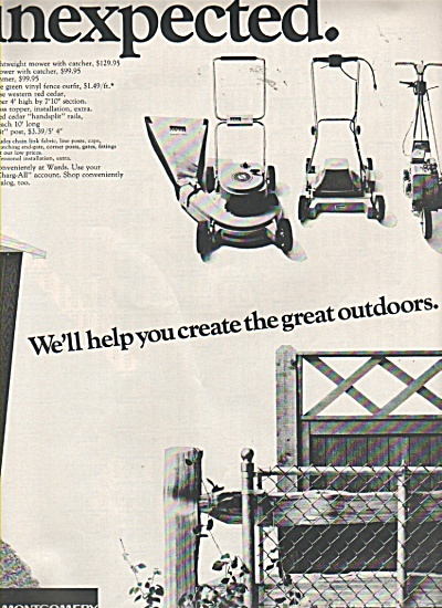 Montgomery Ward ad 1970 (Image1)