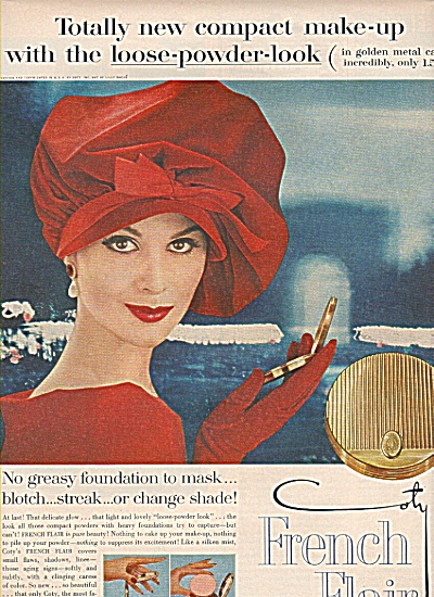 Coty - French Flair ad 1959 (Image1)