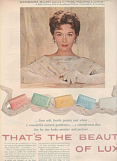 Lux soap ad 1958 (Image1)