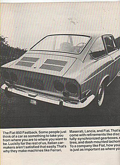 Fiat Automobile ad 1970 (Image1)
